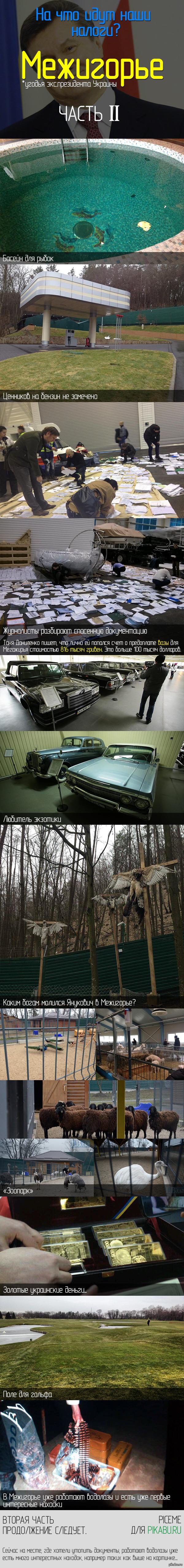 Межигорье - Музей коррупции