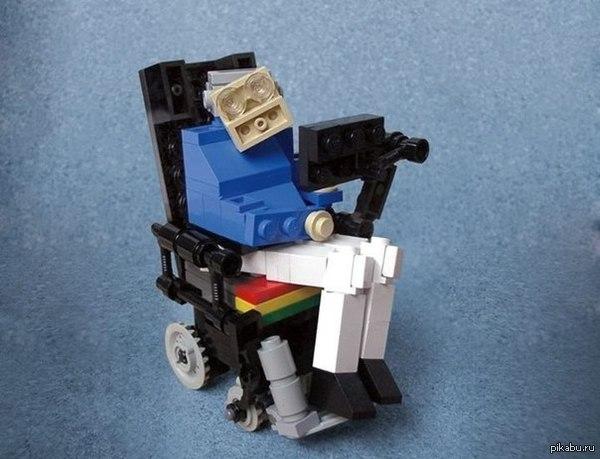 Стивен хокинг lego модель стивен хокинг