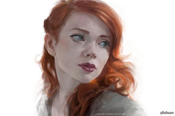 Рыжая девка из универа