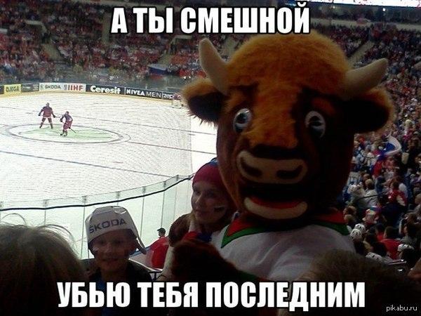 К теме о чемпионате мира по хокею. ЖЫВЕ БЕЛАРУСЬ!   хоккей, чемпионат, зубр
